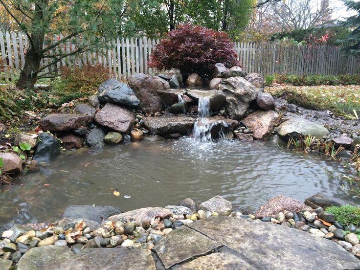 Backyard Koi Fish Pond Builder Macomb Oakland