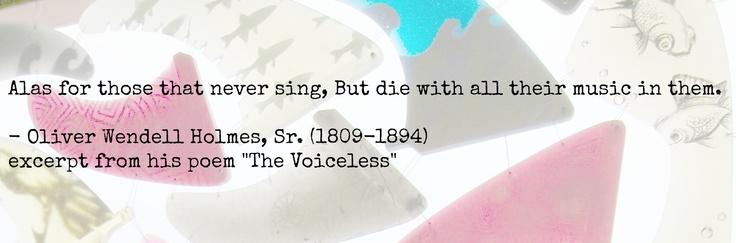 Thanks, Oliver Wendell Holmes, Sr.