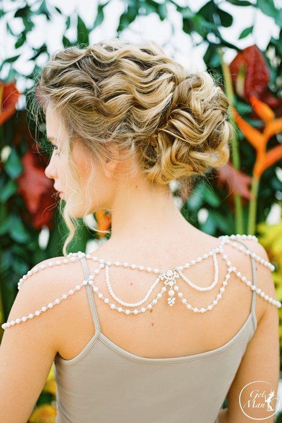 Свадебные украшения на плечи