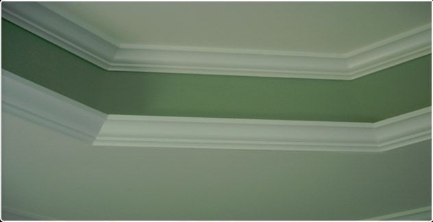 15 best images about crown molding on pinterest for Tray ceiling trim ideas