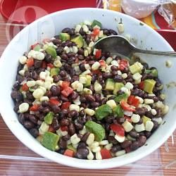 Insalata di fagioli neri e avocado @ allrecipes.it