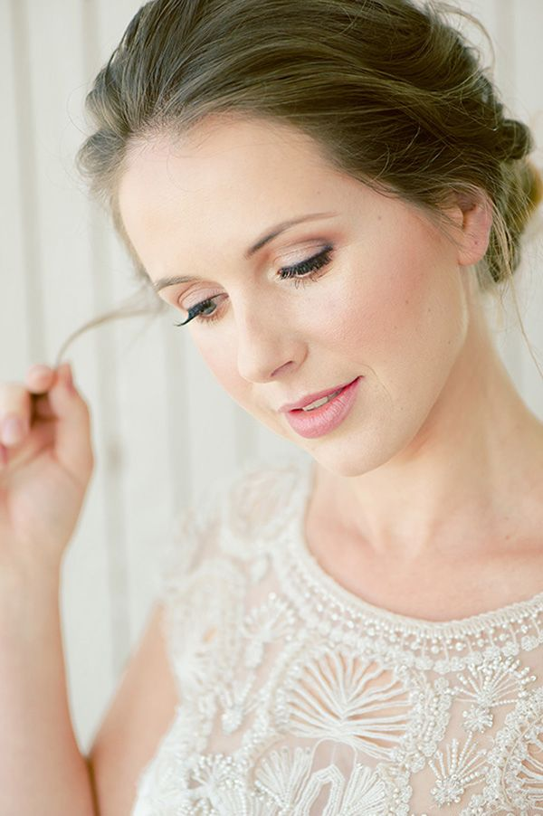 Soft Bridal Makeup | Captured by Pavel Photography on @polkadotbride via @aislesociety