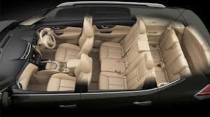 Interior New Nissan X-Trail 2015. Kabin yang lega menjadikan penumpang di depan seolah berada didalam ruang pribadi