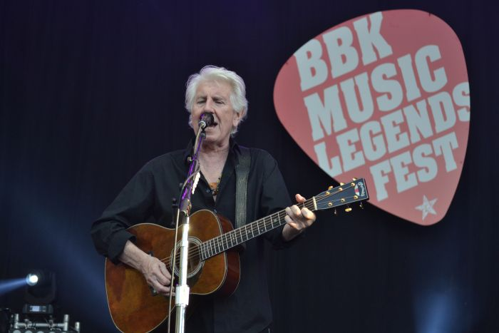 Graham Nash  en el BBK Music Legends Fest 2016