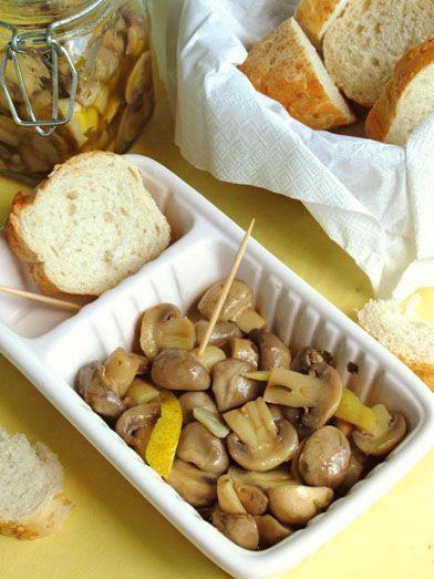 Ciuperci+Marinate