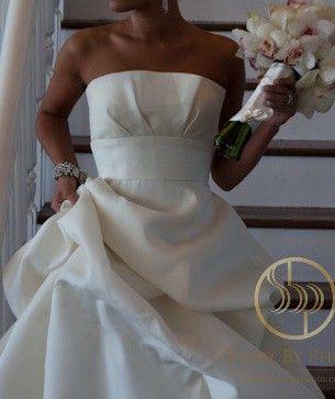 a04b65174f815 Monique Lhuillier Custom Maden (Collette bodice Rihanna skirt ...