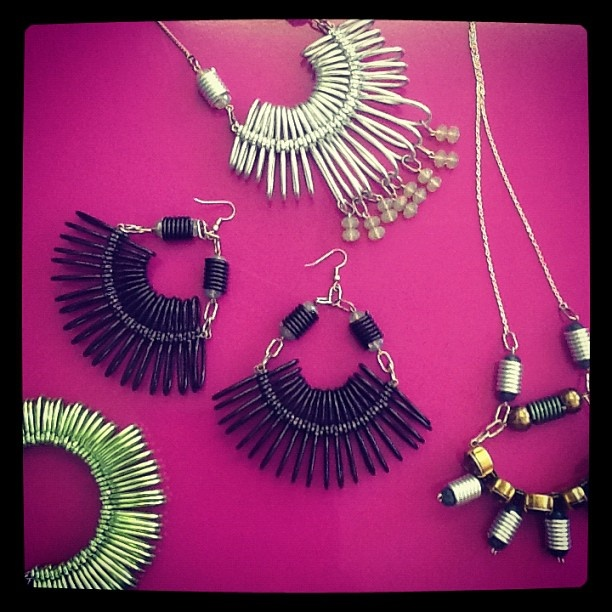 Look what's just arrived at PUSH IT HQ - simply stunning Kirsty Ward jewellery!