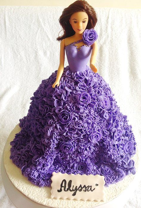 Barbie Couture Cake