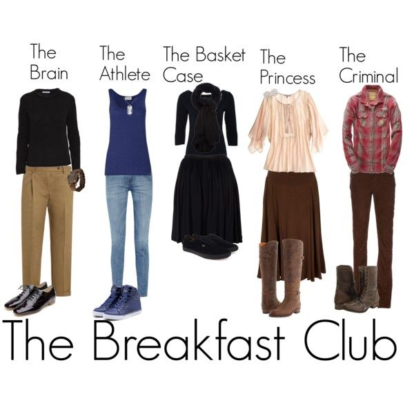 """The Breakfast Club"" by millie-alice on Polyvore"