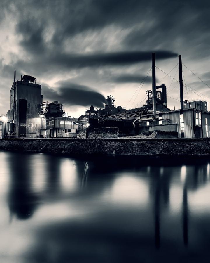 """Smoke Factory"" by David Keochkerian"