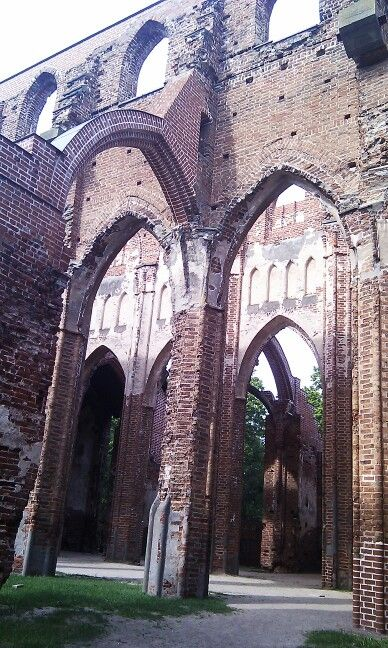 Tartu city, catedral restos II Guerra Mundial