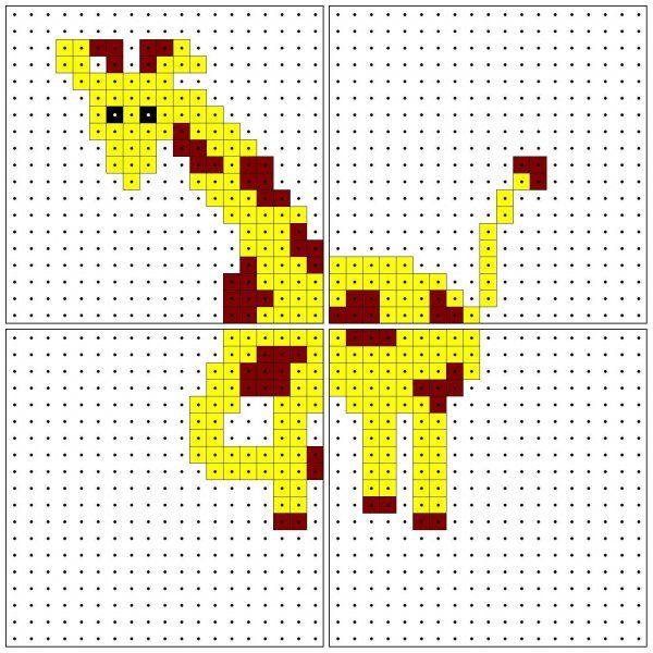 KleuterDigitaal - wb kralenplank giraffe