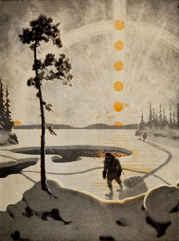 The Public Domain Review The Paintings Of Arthur Heming The Canadian