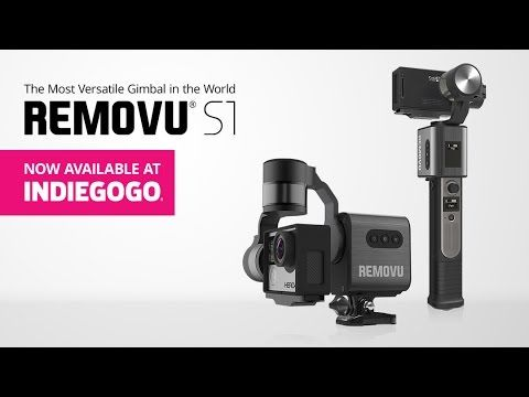 REMOVU S1 - The World's Most Versatile Gimbal For GoPro - YouTube