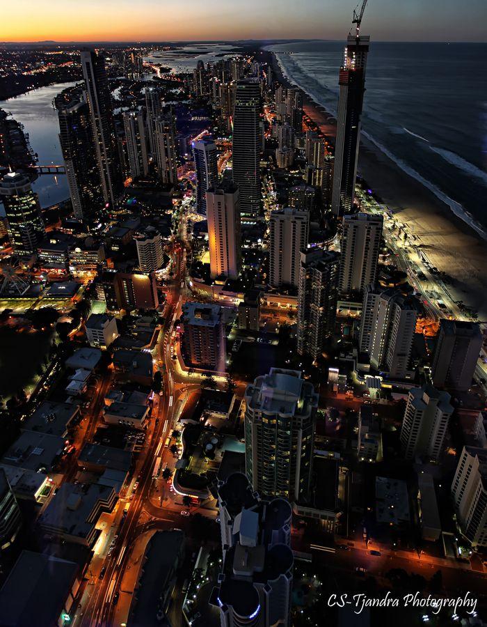 Gold Coast, Australia || A beautiful city next to an endless sea <3