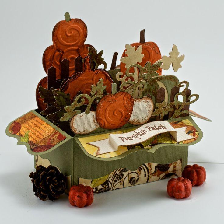 Pumpkin Patch Box Card - My Craft Spot: Guest Designer - Vivian!