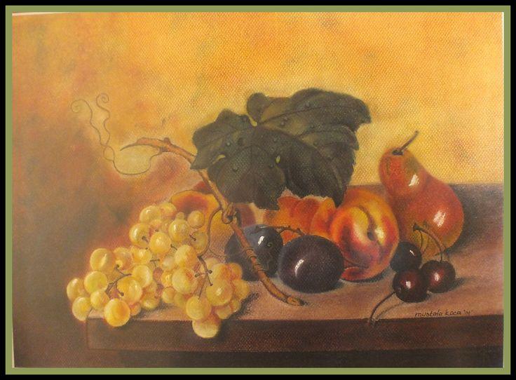 "dry pastel"" fruits"""