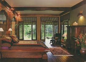 a very elegant and cosy bedroom