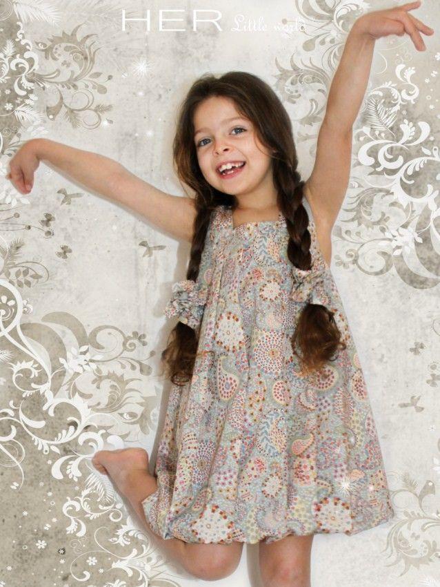patron couture robe fillette gratuit 12