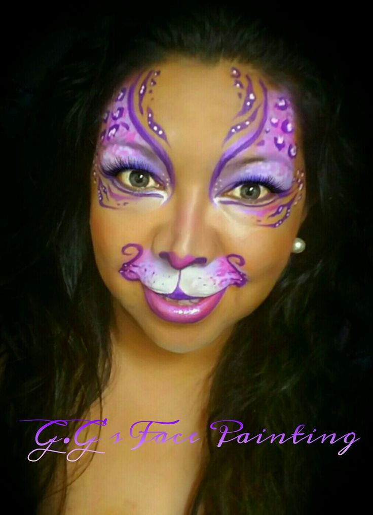 248 best FP - Tigers/Cats images on Pinterest | Face paintings ...