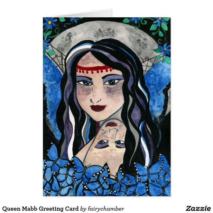 Queen Mabb Greeting Card