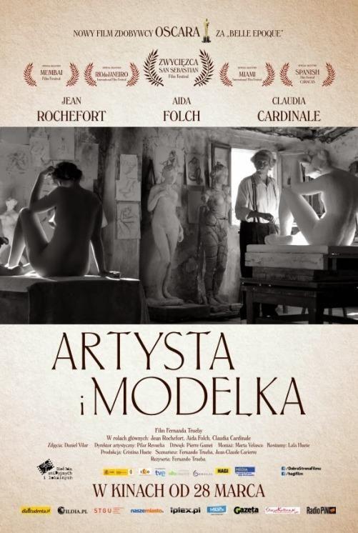 """""""Artysta i modelka"""" - 6 kwietnia 2014, godz. 18:15, Kino Amok Gliwice; 10 kwietnia 2014, godz. 18:30, Kino Zorza Rzeszów; 11 kwietnia 2014, godz. 17:00, Kino Kadr Dąbrowa Górnicza"""