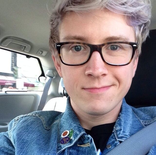 Tyler Oakley Hair Color
