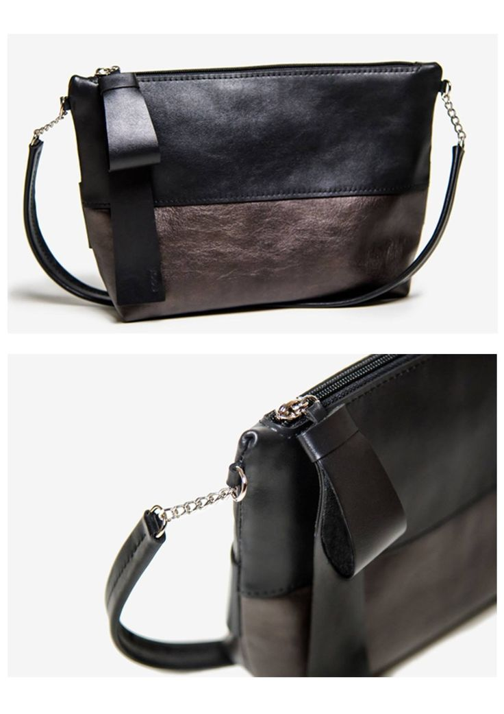 """Monte Carlo"" leather bag"