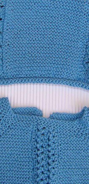 Tutorial para hacer Jersey de Bebé, con video e instrucciones, en algodón o lana