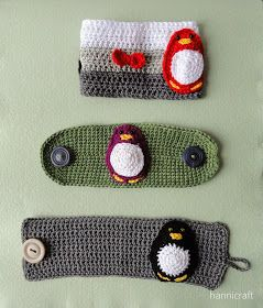 hannicraft: Penguin cozies crochet pattern