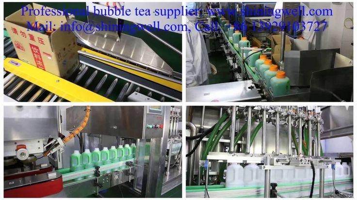 Global Top Safety and High Technology Boba Tea Company! www.shiningwell.com
