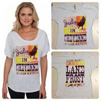 Ladies July In Cheyenne Heather White Dolman shirt