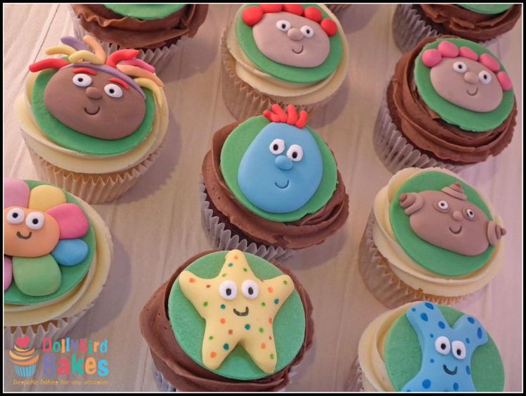 In the night garden cupcakes