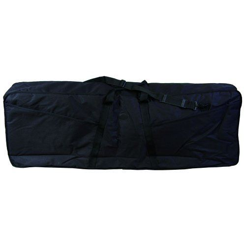 Gearlux 76-Key Nylon Keyboard Bag, 51 x 17.5 x 6.5-Inch - Black by Gearlux. $44.99. This Gearlux keyboard bag is 51 inches in length and features a stain and water resistant nylon cover to help keep your investment protected. A three-sided zipper allows the bag to open flat for easy use. External pockets can hold a variety of accessories such as sheet music and cables! Fits most 76-key keyboards. Other sizes available, check keyboard dimensions before ordering. Gearlux bra...