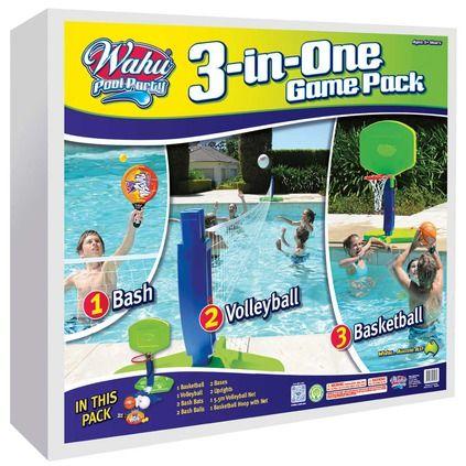 Perfect Wahu 3 In 1 Pool Set