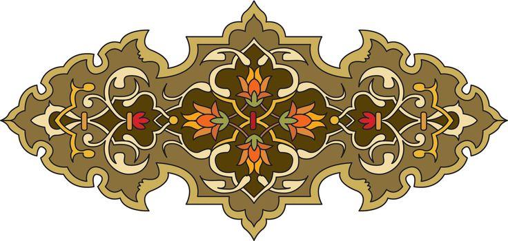 34-islamic Persian Pattern