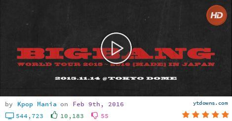 Download Bigbang tour videos mp3 - download Bigbang tour videos mp4 720p - youtube to mp3 online...