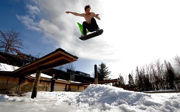 #Snowskate #Winterpassion
