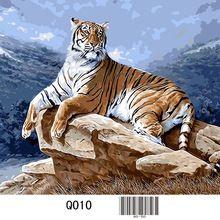 Q010 tijger, 3d diamant schilderen, vierkant, diamant borduurwerk, kruissteek, 5d, handwerk, diy, rhiestone schilderij (China (vasteland))