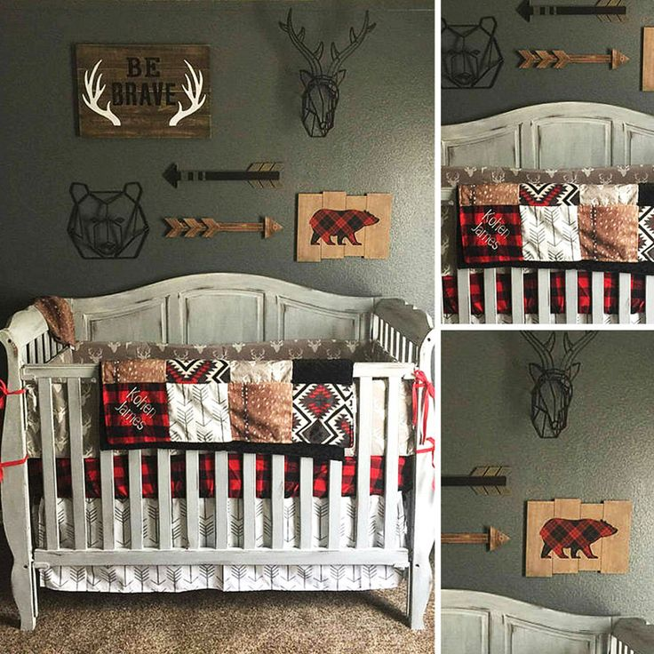 Personalized Patchwork Blanket Nursery Decor