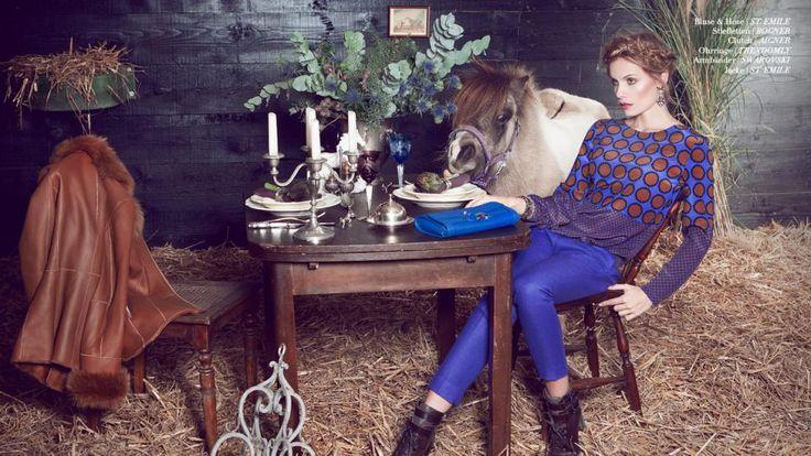Fashion beim Equistyle Magazine | COUNTRY MEETS GLAMOUR | Seht das Shooting vom Country Chic mit Jana Beller auf unserer Website!