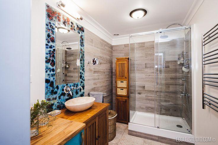 Дизайн-проект ванной комнаты (Тверь)