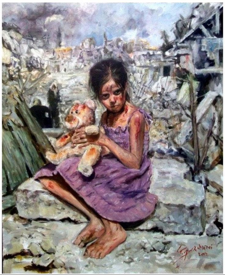Tammam Jaramani - child from my country - Syria