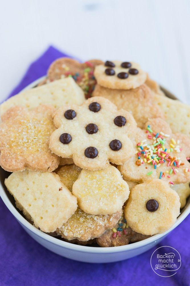 Einfache Kekse ohne Ei und Milch
