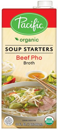 Organic Beef Pho Soup Base    Inspired by the traditional Vietnamese Pho (pronounced 'fuh'), our delicious Organic Beef Pho Soup Base makes it simple to prepare authentic Pho at home.