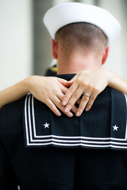 I hope one day to be in the Navy and be married with the love of my life. <3
