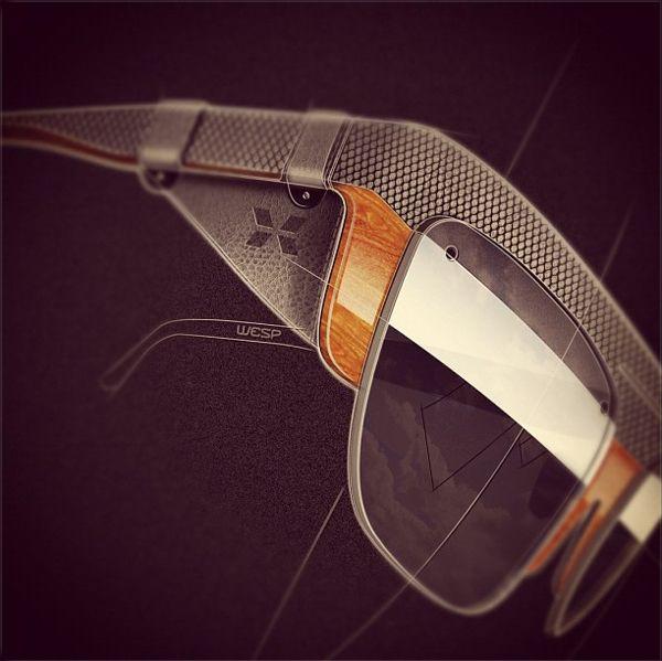 Sunglasses Concepts by Mr Bailey, via Behance