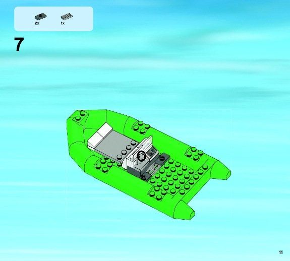 lego coast guard instructions
