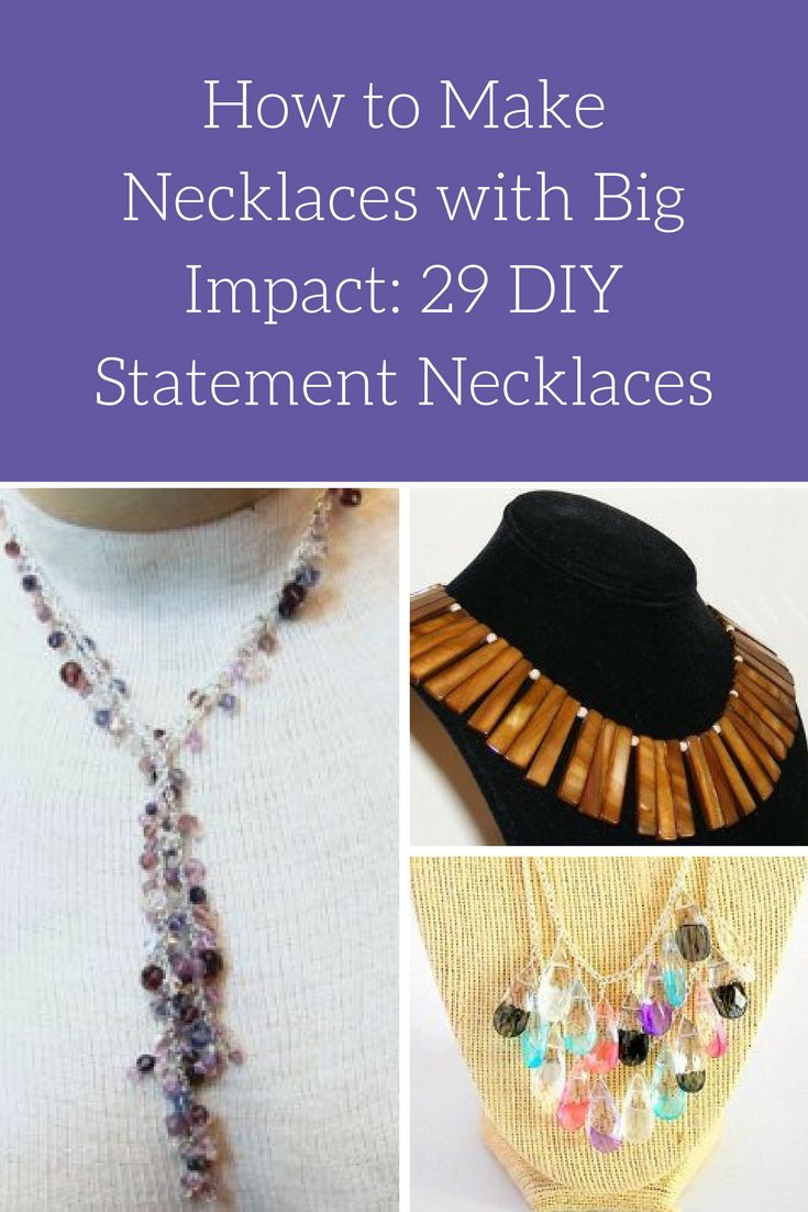 101 best diy statement necklace images on pinterest | jewelry