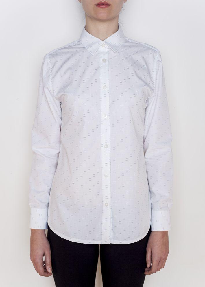 košile SIMPLE WHITE dámská